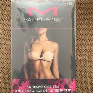 Maidenform adhesive clip bra
